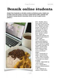 dennik online studenta 1